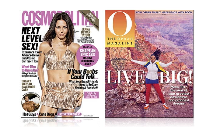 Up To 67 Off 1 Year Subscriptions Cosmo Or Oprah Magazines