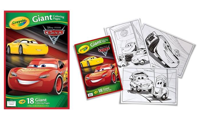 Kleurplaten Van Cars 3.Tot 27 Op Grote Crayola Kleurplaten Groupon Producten