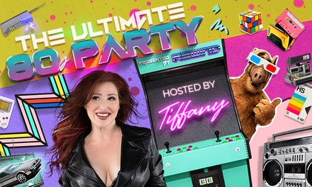 Ultimate 80's Party featuring Tiffany on Friday, January 24, at 8 p.m.