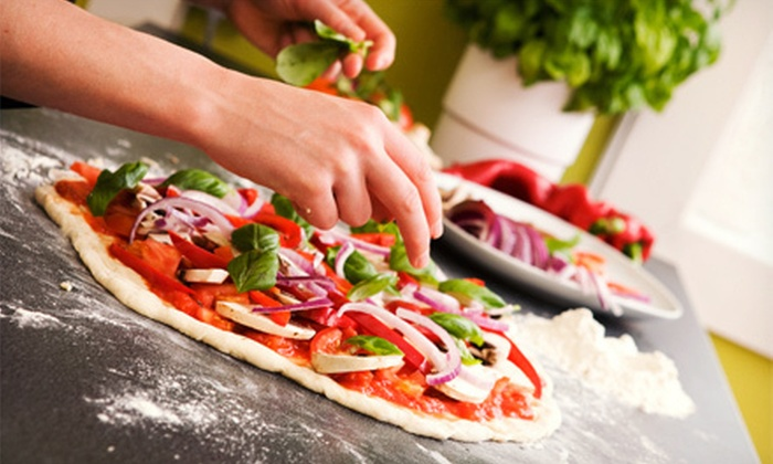 Oro Pomodoro - Central Rockville: $39 for a Painting-and-Pizza-Making Class at Oro Pomodoro ($79.99 Value)
