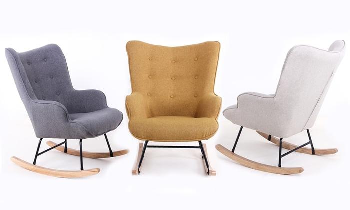 fauteuil mod le scandinave groupon shopping. Black Bedroom Furniture Sets. Home Design Ideas