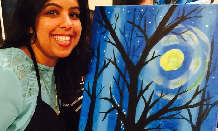 Paint And Sip In Coeur D Alene Pinot S Palette