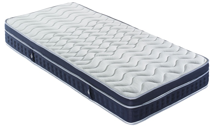 matelas oc an m moire de forme et ressorts ensach s sampur groupon shopping. Black Bedroom Furniture Sets. Home Design Ideas