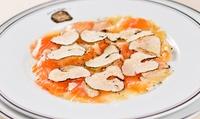 Menu autour de la truffe avec entrée, plat, dessert pour 2 convives dès 59 € au restaurant Terres de Truffes