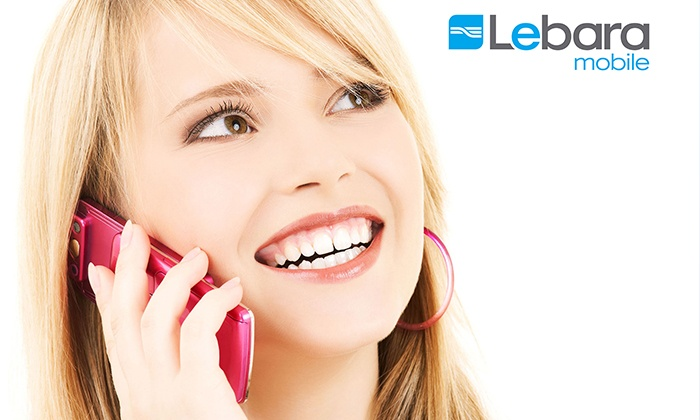 $15 Lebara SIM Card with 30 Days Unlimited Calls and Texts Plus 2GB Data,  Includes Nationwide Delivery ($31 90 Value)
