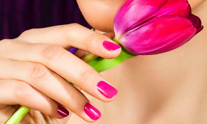 AJ's Spa Millennium - Pepper Pike: One Express Mani-Pedi, Two Deluxe Manicures, or One Deluxe Mani-Pedi at AJ's Spa Millennium (Up to 50% Off)