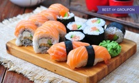 Sushi or Foie Gras Buffet with Soft Drinks or House Beverages at Cave at 5* Conrad Hotel Dubai (Up to 41% Off)