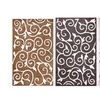 Affinity Home Floral Scroll Shag Area Rug