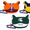NCAA No-Back Car Booster Seat