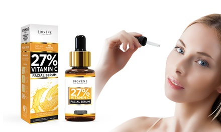 1x, 2x oder 3x Biovène 27% Vitamin C Gesichtsserum 30 ml (Duesseldorf)
