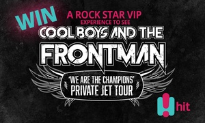 Hamish & Andy: The Groupon Groupie Competition: WIN Hamish & Andy's VIP Rock Star Experience!