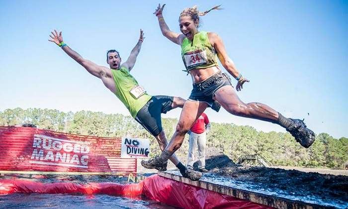 ... Rugged Maniac 5K Obstacle Race   Temecula Downs Events Center: $40 For  Admission For One ...