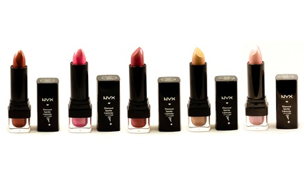 NYX Diamond Sparkle FivePiece Lipstick Set for £12.98