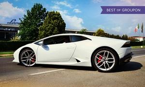 BullBar: Test drive su strada di 20 o 30 minuti con LamborghiniHuracán più on board video da BullBar (sconto fino a 60%)