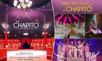 2 places pour un dîner-spectacle (menu au choix), le samedi 25 novembre 2017 à 20h dès 99 € à Hellemmes - Le Chapitô