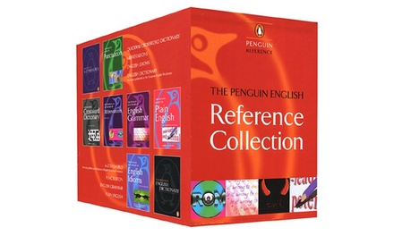 Penguin English Reference Set for £44.98 With Free Delivery
