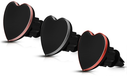 Heart Shaped Car Phone Magnet...