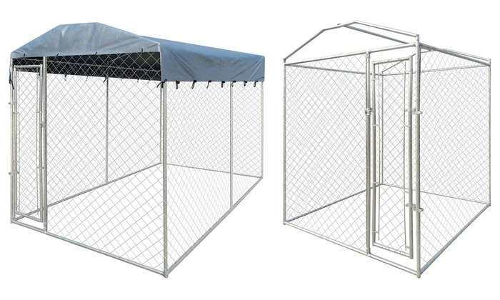 chenil d 39 ext rieur pour chiens groupon. Black Bedroom Furniture Sets. Home Design Ideas