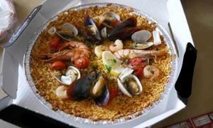 Friggitoria And Pesce Fresco: Uno o 2 kg di pesce fritto o paella d'asporto e vino zona Politecnico - Friggitoria and Pesce Fresco (sconto fino a 58%)