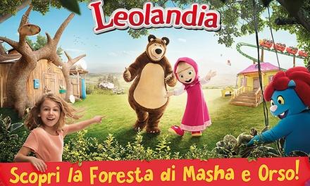 Ingressi a Leolandia per tutta la famiglia