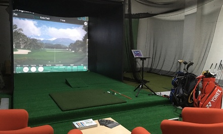 OneHour Golf Lesson with Optional Golf Club Fitting at Designer Golf *