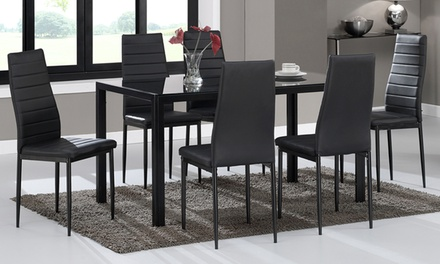 kharkov glass dining table