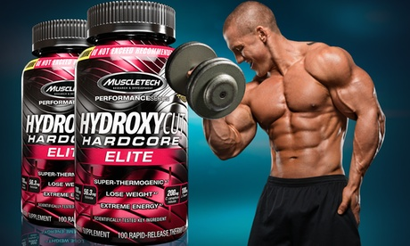 Buy 1 Get 1 Free: Hydroxycut Hardcore Elite (100 Count)