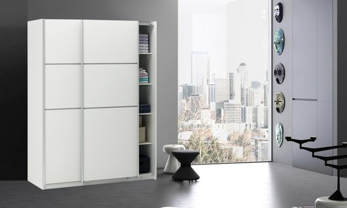 Armadio con 2 ante scorrevoli groupon goods - Ikea armadio 2 ante ...
