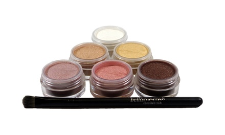 Bellapierre Cosmetics 6-Color Mineral Eye Shadow Set