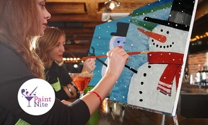 Paint Nite: C$29 for One Admission to a Painting Party in a Bar in Montreal Greater Area with Paint Nite® (C$45 Value)