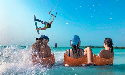 Single or Couple Paddleboard Rental with Optional Lesson or Kayak Rental for One Hour at Kite N Surf (Up to 50% Off)
