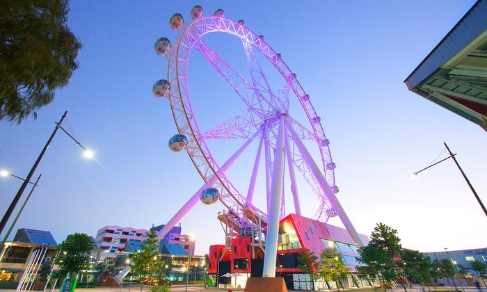 Melbourne Star Observation Wheel - Docklands: Melbourne Star Observation Wheel: One Child ($11) or One Adult ($18) Spring Pass
