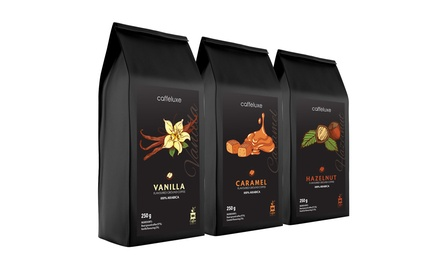 ThreePack of Limited Edition Flavored Ground Coffee