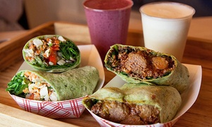 JuiceBerry Natural Food: $7 for $15 Worth of Juice, Smoothies, and Healthy Café Food at JuiceBerry Natural Food