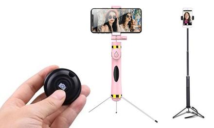 1, 2 o 3 mandos a distancia para selfies Bluetooth