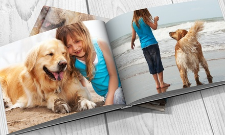 A4 Oriana fotoboek met zachte foamlaag 20, 40, 60 of 100 paginas vanaf € 9,99 tot korting.