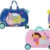 Licensed Children's Cartoon Ride-On Luggage Cruizers