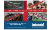 Tickets for One, Two or a Family to Centenary Tanks and Tommies Event at Hatfield House, 10-11 September (Up to 22% Off)