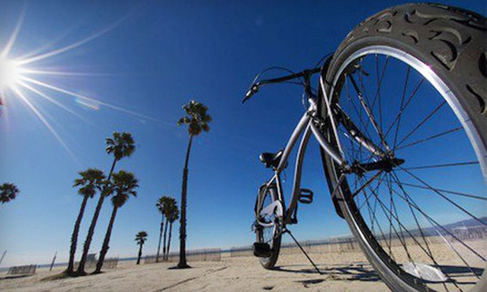 Venice Beach Bike Tours - Venice: Two-Hour Bike Tour with Bike Rental for One or Two from Venice Beach Bike Tours (Up to 54% Off)