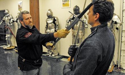 Daily Deal Offer: Davenriche European Martial Arts School - Sword