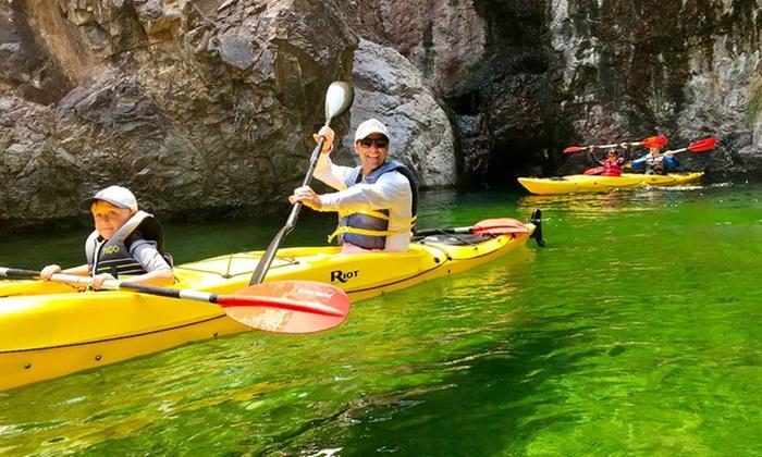 Las Vegas Sup Kayak Club Willow Beach Az Groupon