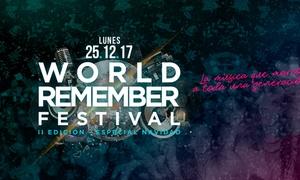World Remember Festival ll Edición: 1 entrada a World Remember Festival ll Edición - Especial Navidad desde 9,95 € en Valencia