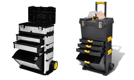 Carro de herramientas de 3 módulos por 134,99 € o maletín para herramientas cofre herramienta carretilla por 69,99 €