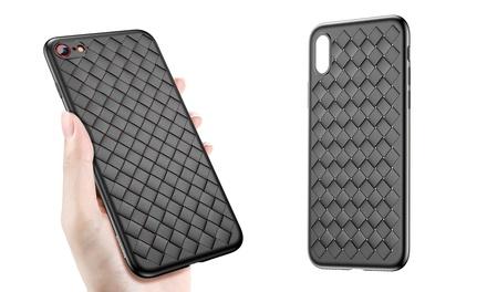 1 o 2 cover in TPU per iPhone X/6/6 Plus/7/7 Plus/8/8 Plus