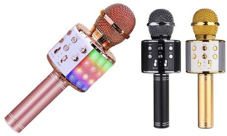 1 ou 2 microphones de karaoké bluetooth