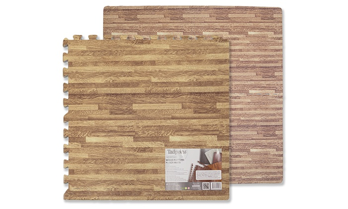 Tadpoles Infant Play Mat in Dark Oak