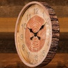 Faux Tree Section and Bark Wooden Wall Clock
