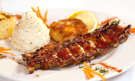 American Cuisine and Drinks at Rivara's ( 50% Off). Two Options Available.