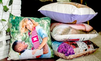 Up to 89% Off Customized Pillow Covers From Collage.com