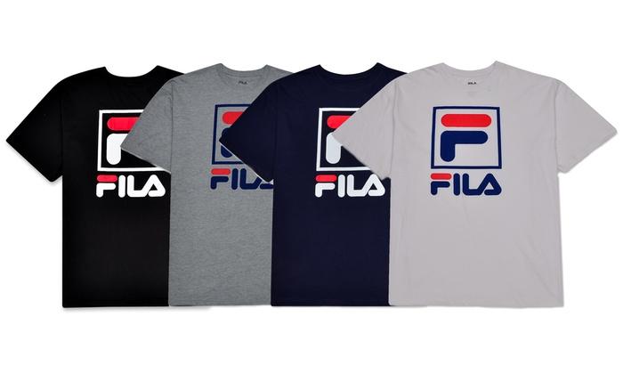 31ec898c63af0 Fila Men's Big and Tall Short Sleeve T-Shirt (2XL-6XL & XLT - 5XLT ...